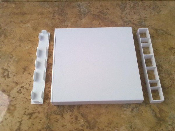 Hohlkammerprofil 150 x 20 x 1 mm