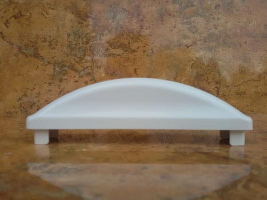 Endkappe halbrund übergreifend 130 x 25 mm